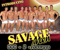 Atlantic City male strippers articles.